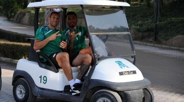Bursasporlu Futbolcular Golf Oynadi