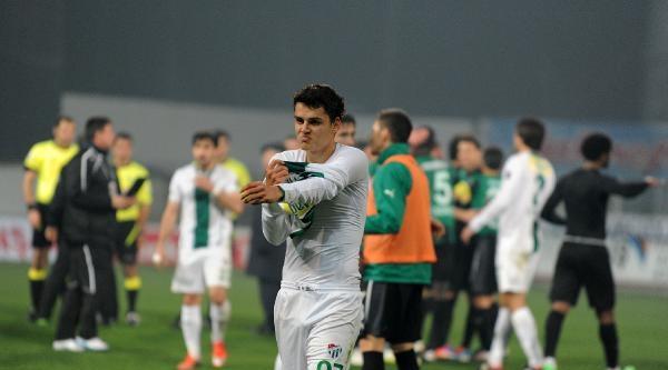 Bursasporlu Futbolcularda Mağlubiyet Üzüntüsü