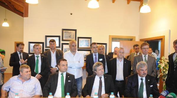 Bursaspor'un Yeni Başkanı Bölükbaşı: ''tek Yumruk Olmalıyız