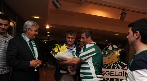 Bursaspor'un Yeni Teknik Direktörü Şenol Güneş: İddiali Geldik