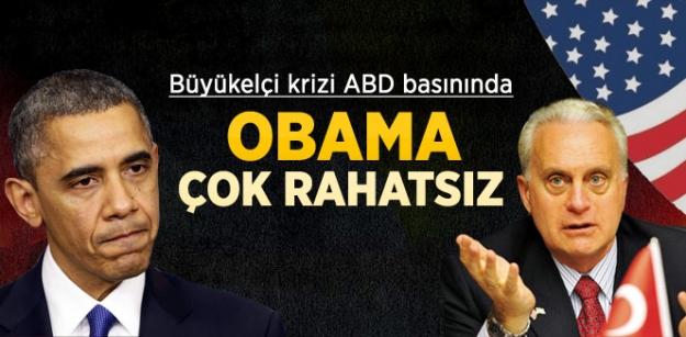 Büyük elçi krizi ABD basınında! Obama çok rahatsız!