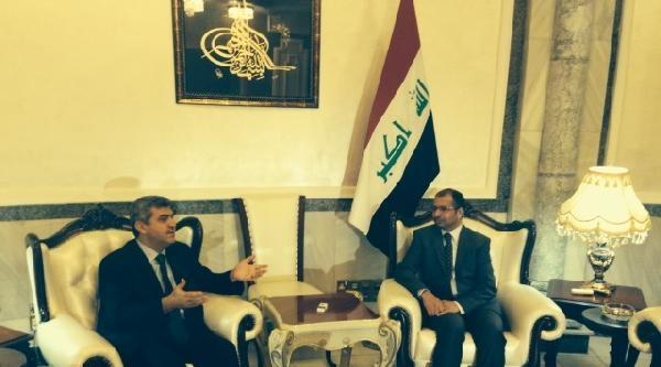 Büyükelçi Kaymakcı Irak Temsilciler Meclisi Başkanı El Cuburi'yi Ziyaret Etti