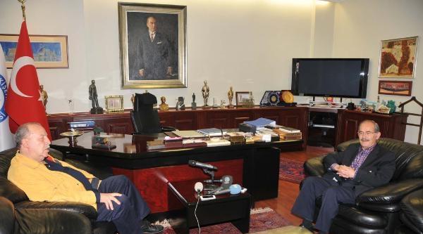 Büyükerşen'den Cumhurbaşkanlığı Adaylığı Açıklaması: Benim Hiç Talebim Yok