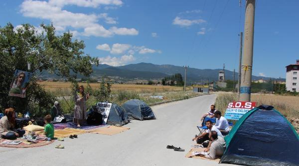 Çadirlarda İbda-c Liderinin Tahliyesini Bekliyorlar