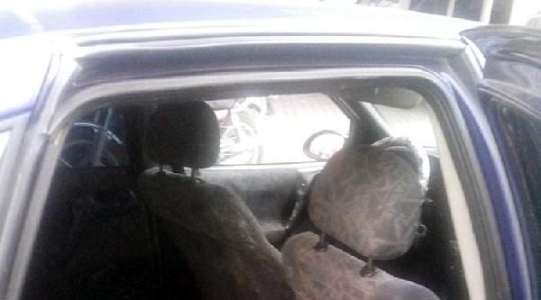 Çaldiklari Danayı Otomobille Kaçırırken Yakalandılar