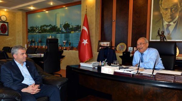 Çalimbay'dan Başkan Kocamaz'a Ziyaret