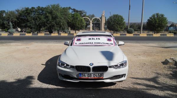 Çalinti Lüks Otomobiller Suriye Sınırında Bulundu