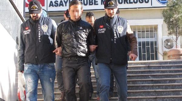 Çalinti Minibüsle Mazot Çalan Iki Hirsiz Tutuklandi
