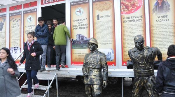 Çanakkale 100'üncü Yil Gezici Müzesi Gaziantep'te