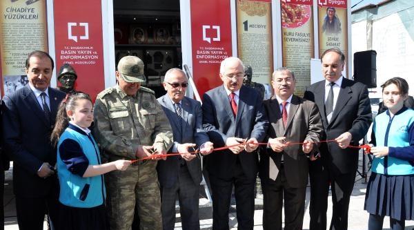 Çanakkale 100'üncü Yıl Gezici Müzesi Sivas'ta