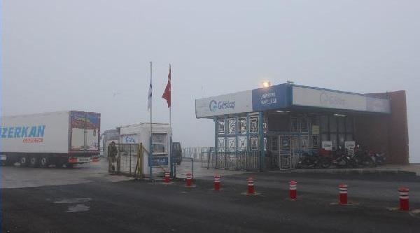 Çanakkale Boğazi Transit Gemi Geçişlerine Kapatildi