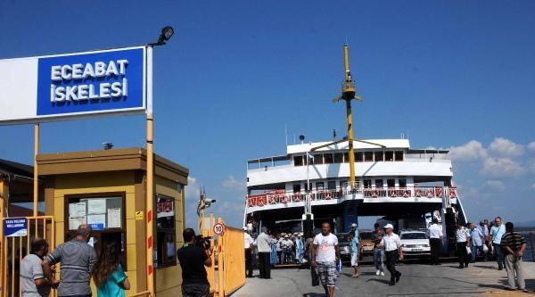 Çanakkale Boğazı'nda Bayram Önlemi