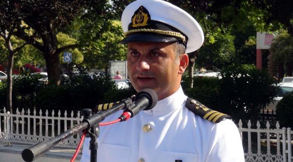 Çanakkale Boğazı'nda Denizcilik Ve Kabotaj Bayramı Kutlaması