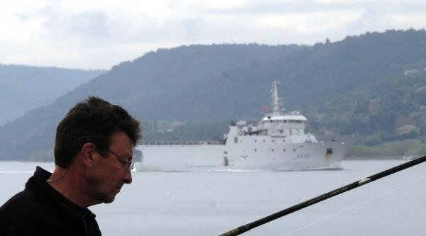 Çanakkale Boğazı'ndan Bu Kez Fransız Savaş Gemisi Geçti