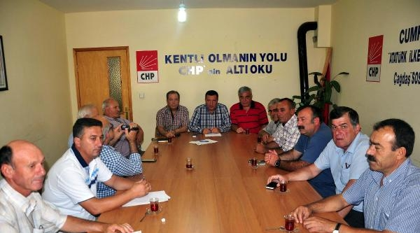 Çanakkale Chp'den Kılıçdaroğlu'na Tam Destek