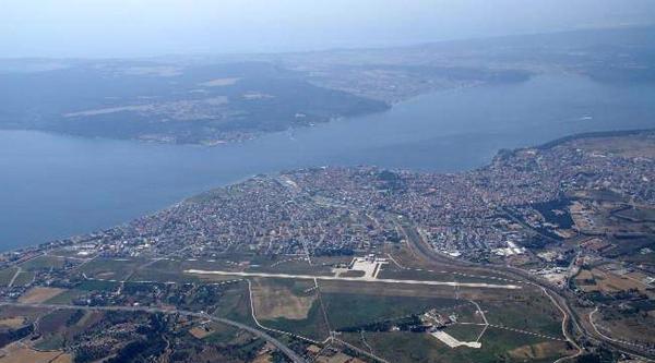 Çanakkale Havalimanı Uçuşa Hazır