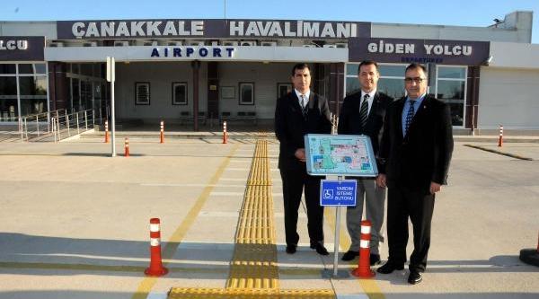 Çanakkale Havalimani Uluslararasi Standartlara Kavuşuyor