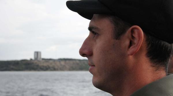 Çanakkale Şehitlerine Denizden Selamlama