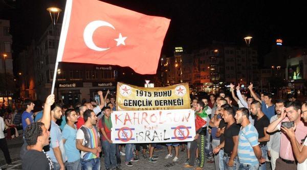 Çanakkale'de İsrail Tepkisi