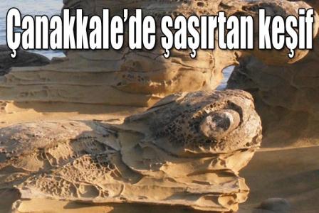 Çanakkale'de şaşırtan keşif