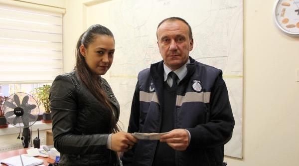 Çankiri'da Düşürdüğü 2 Bin Lirasina 1 Hafta Sonra Kavuştu