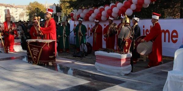 Çankiri'da Şehitler Aniti Açildi
