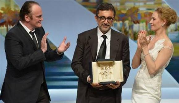 Cannes'da büyük onur!