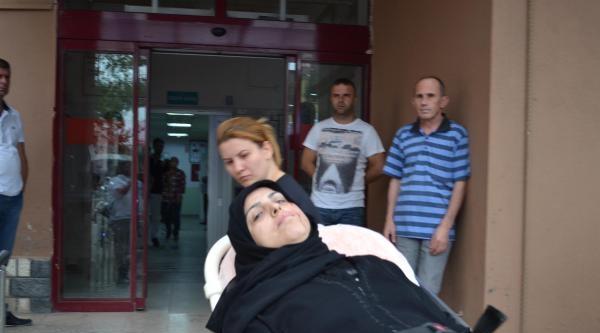 Çatidan Kafasına Sac Düşen Suriyeli Kadın Yaralandı