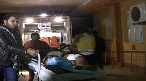 Çatişmada Yaralanan 4 Suriyeli Türkiye'ye Getirildi