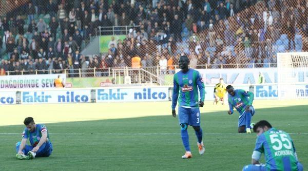 Çaykur Rizespor-eskişehirspor: 0-0