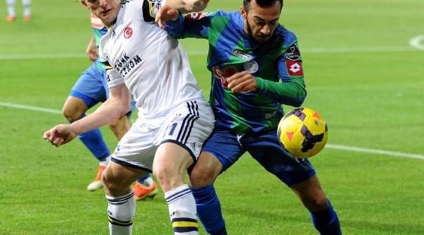 Çaykur Rizespor-Fenerbahçe Ek Fotoğraflar