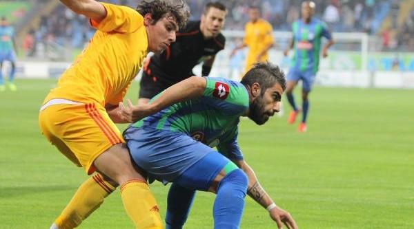 Çaykur Rizespor - Kayserispor: 0-2