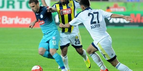 Çaykur Rizespor-Tarsus Idmanyurdu: 3-4  (Penalti Atişlari Sonucu-Türkiye Kupasi)