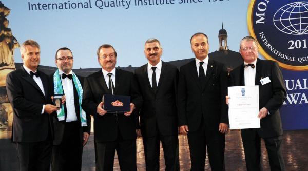 Çaykur'un 9 Ürününe Uluslararası Kalite Ödülü