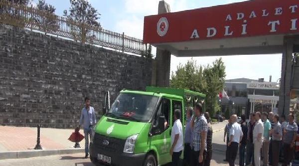 Cebeci'deki Taş Ocağında Ölen İşçilerin Cenazeleri Adli Tıp'tan Alındı
