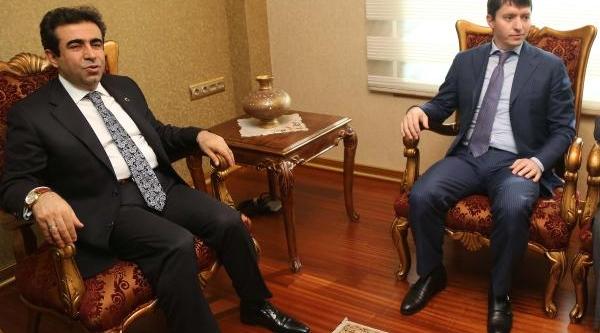 Çeçenistan Başbakan Yardimcisi: Mersinli Yatirimci Gelsin
