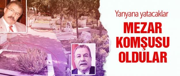 Celalettin Cerrah ve Muammer Güler mezar komşusu oldu!