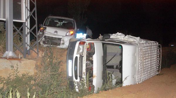 Çelikhan'da Kaza: 3 Yaralı