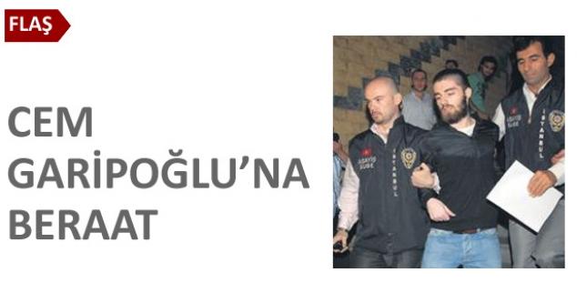 Cem Garipoğlu'na ilk beraat