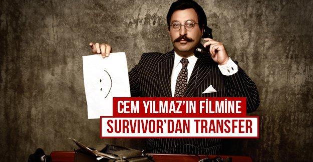 Cem Yılmaz'ın filmine Survivor'dan transfer