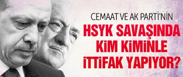 Cemaat ve AK Parti HSYK için kimlerle ittifak yapıyor?