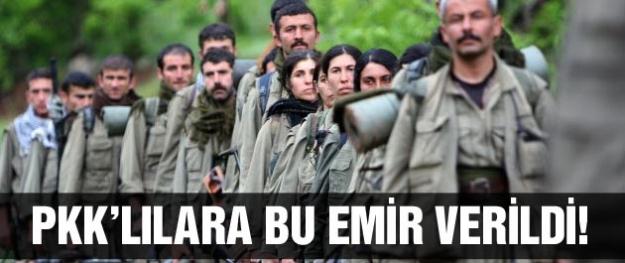 Cemil Bayık PKK'lılara geri dönün emri verdi