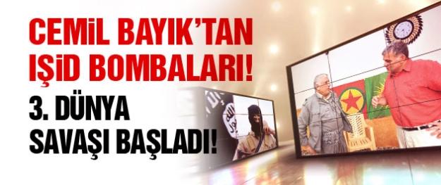 Cemil Bayık'tan IŞİD bombaları!