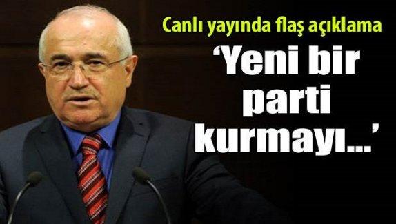 Cemil Çiçek'ten canlı yayında flaş açıklama!