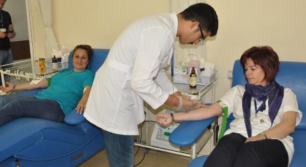 Çerkezlerden Sürgünün 150'nci Yılında Kan Bağışı