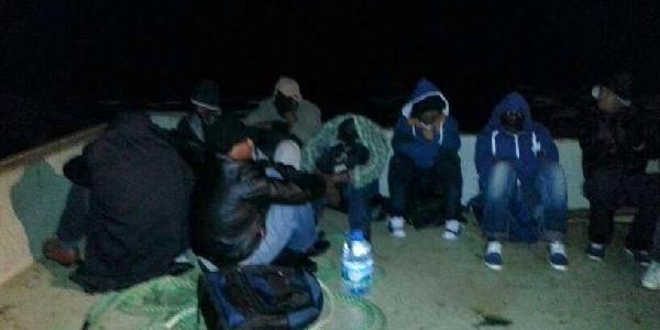 Çeşme'De 37 Kaçak Yakalandi