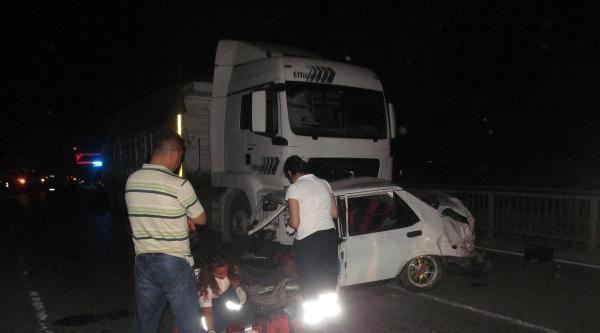 Ceyhan'da Kaza: 1 Ölü, 1 Yaralı