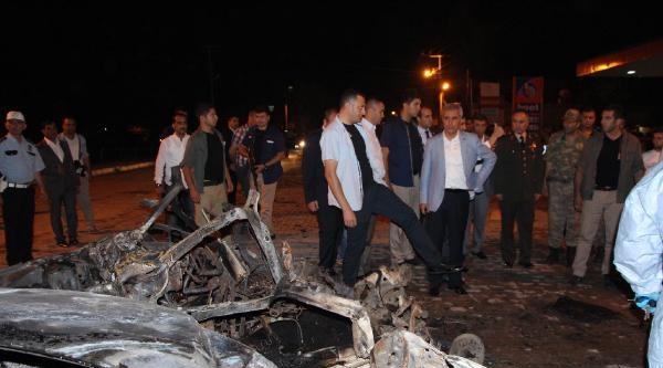 Ceylanpınar Belediye Başkanı Ak Partili Atilla'ya Bombalı Saldırı (2)