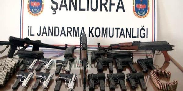 Ceylanpinar'da Kaçak Silah Operasyonu: 2 Gözalti
