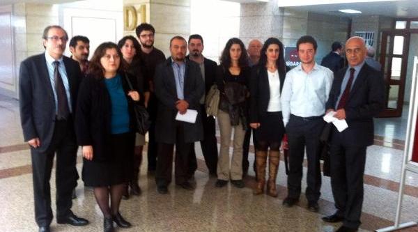 Çhd'li Avukatlara Soruşturma Protestosu